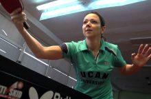 R. Paškauskienė su Lietuvos stalo teniso delegacija išvyko į pasaulio čempionatą