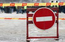 Dėl planuotų statybos darbų sostinėje bus laikinų eismo ribojimų