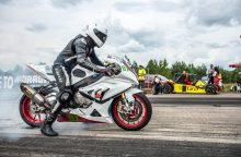 """""""Nemuno žiede"""" griaudės čempionato lyderių motociklai"""