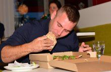 Greičiausias picų valgytojas Lietuvoje – 28-erių vilnietis