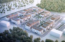 Sostinėje iškils naujas gyvenamųjų namų kvartalas