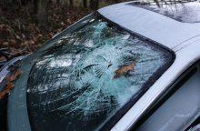 Į avariją pateko Telšių policijos vadovas