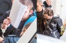 Konteineryje auką slėpę žudikai stojo prieš teismą